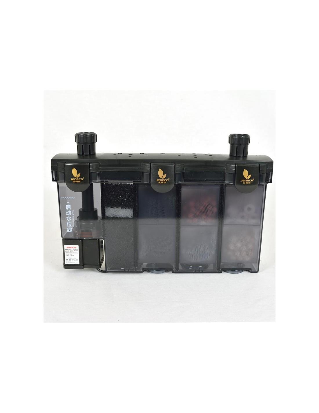 Pompa filtro esterno multifunzione con filtro bio chimico for Pompa tartarughiera