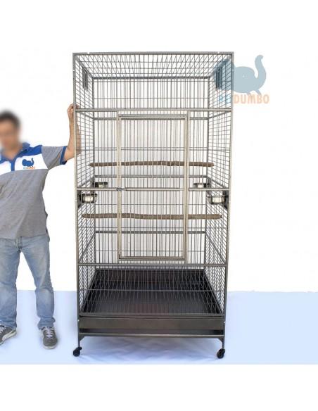 Gabbia pappagalli ara cacatua 2 metri
