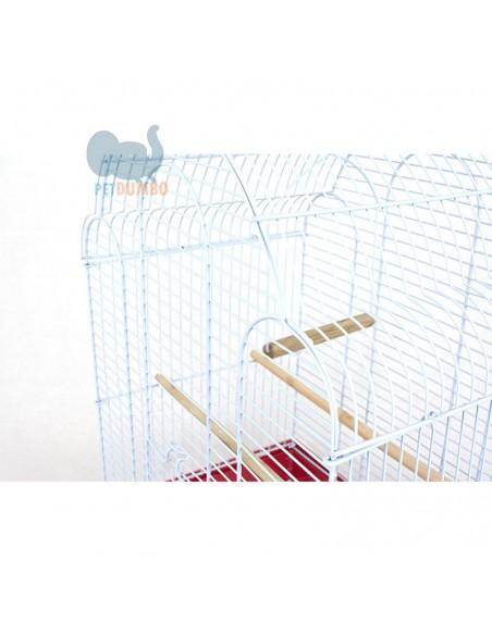 Gabbia canarini, cocorite, bengalini e altri piccoli uccelli