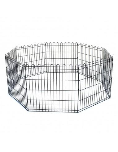 Recinto per cani in metallo 61x61h cm