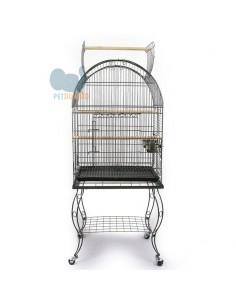 Gabbia pappagalli con carrello