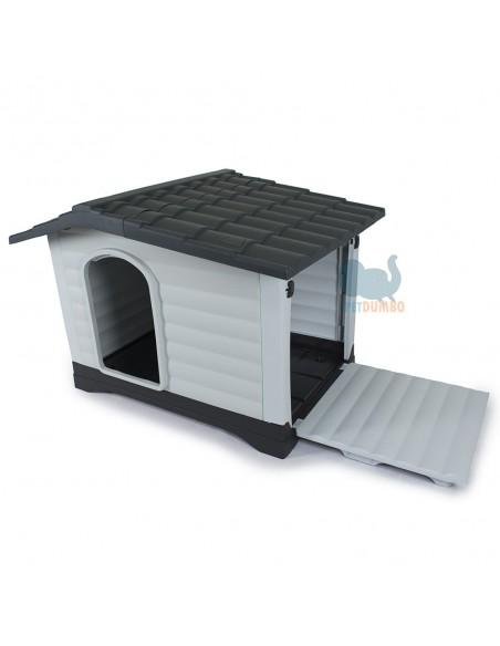 Cuccia per cani con pedana