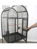Gabbia pappagalli con trespolo