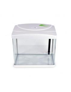 Acquario con filtro e luci