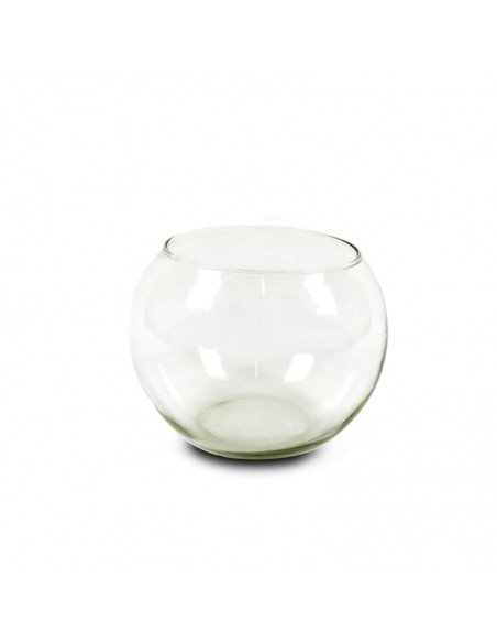 Boccia pesci in vetro 20 cm.