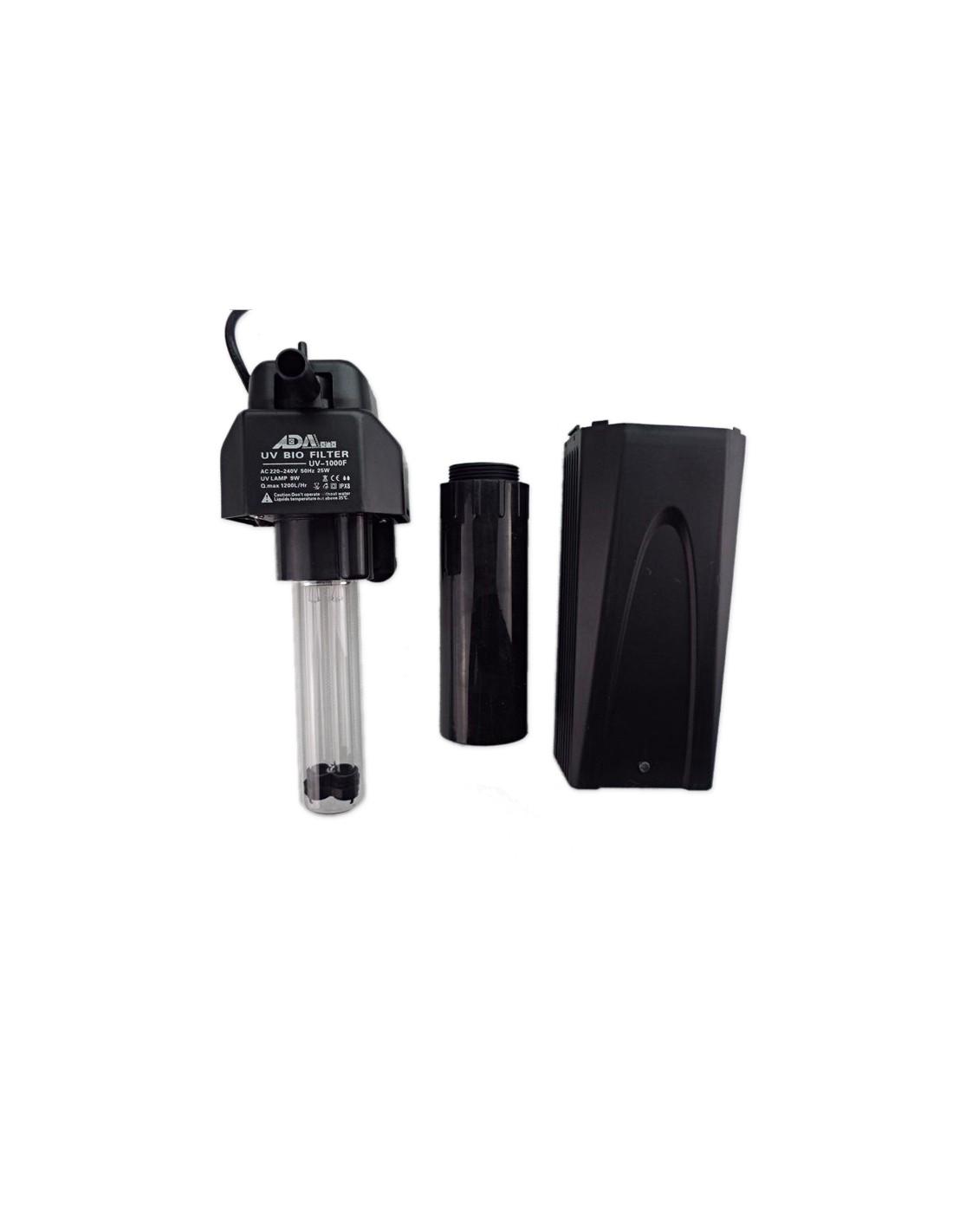 Pompa filtro con lampada uv sterilizzatore for Lampada uv per tartarughe acquatiche prezzo