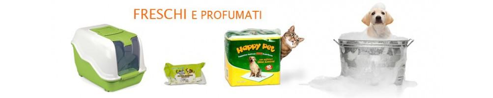 Prodotti per l'igiene e la cura dei vostri animali.